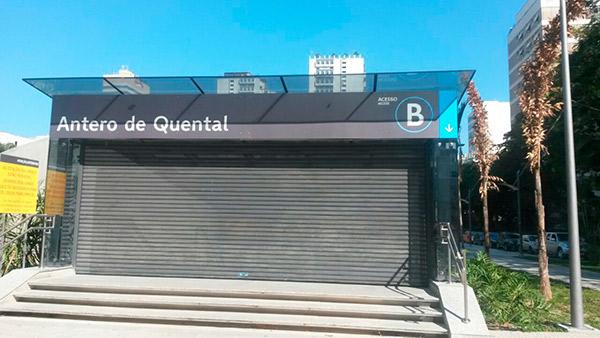 METRO RJ – Estação Antero de Quental – Leblon